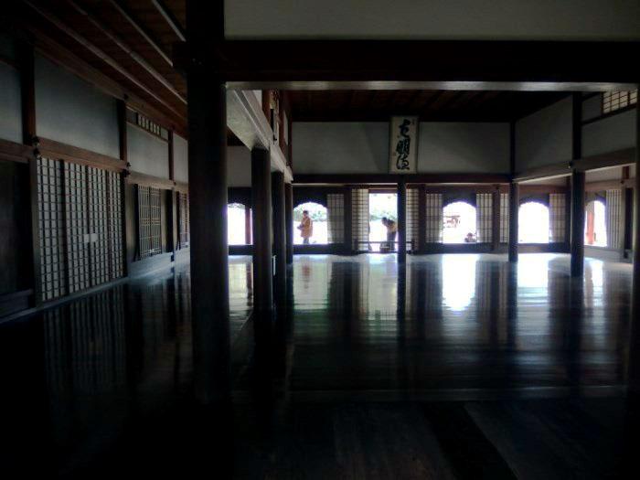旧閑谷学校 講堂内部