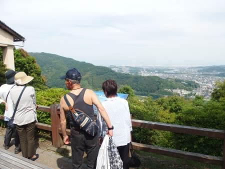 山頂駅からの眺め