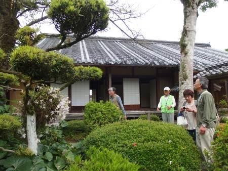 旧 目加田家住宅を見学